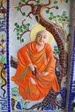 Tempel-Detail Dalat Vietnam Stockfotografie