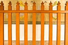 Tempel die Thailand inperken (de Tempel van Phra Kaew) Royalty-vrije Stock Afbeelding