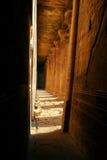 Tempel in Edfu - Egypte - Horus Royalty-vrije Stock Foto