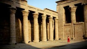 Tempel in Egypte Royalty-vrije Stock Foto's