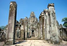Tempel-Eingang Lizenzfreies Stockfoto