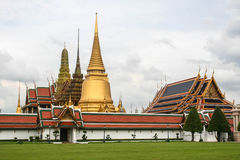 Tempel Emerald Buddha Bangkoks, Thailand Lizenzfreie Stockfotos