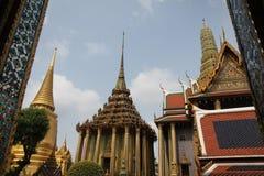 Tempel Emerald Buddhas, Wat Phra Kaew Stockfoto