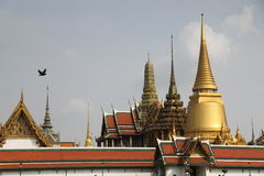 Tempel Emerald Buddhas, Wat Phra Kaew Stockfotos