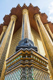 Tempel Emerald Buddhas (Wat Phra Kaew), Thailand Stockfotos