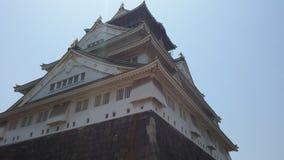 Tempel en Kasteelori?ntatiepunt in Japan royalty-vrije stock foto