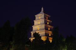 Tempel en stupa Royalty-vrije Stock Afbeeldingen