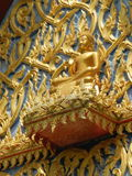 Tempel en Thaise Architectuur in Thailand Royalty-vrije Stock Foto