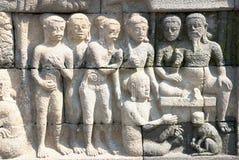 tempel för 02 borobudurserie Arkivfoto