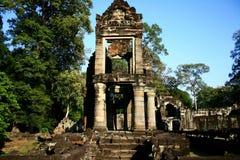 tempel för angkorprohmta Arkivfoton