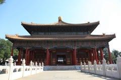 tempel för beijing porslinconfucian Royaltyfria Bilder