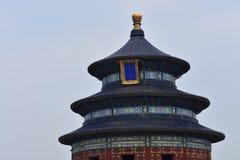 tempel för beijing porslinhimmel royaltyfria bilder