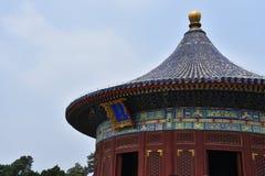tempel för beijing porslinhimmel fotografering för bildbyråer