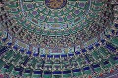 tempel för beijing porslinhimmel arkivfoto
