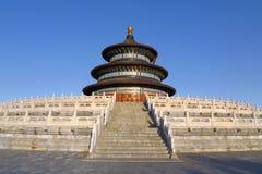 tempel för beijing porslinhimmel Arkivfoton