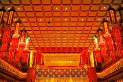 Tempel för Buddhatandrelik Royaltyfri Foto