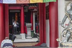 Tempel för Buddhatandrelik Royaltyfria Foton