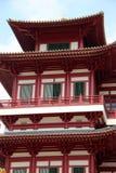 Tempel för Buddhatandrelik och museum - Singapore Arkivfoton