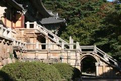 tempel för bulguksa ii Royaltyfri Fotografi
