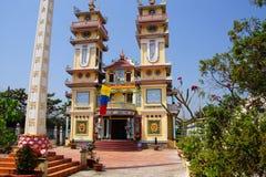 tempel för cao dai Royaltyfri Fotografi