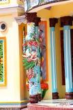 tempel för cao dai Royaltyfria Bilder