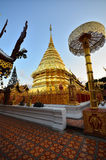 tempel för doiphrathatsuthep Royaltyfria Bilder