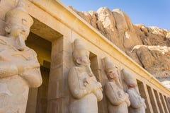 tempel för egypt hatshepsutluxor minnesmärke egypt luxor Royaltyfri Foto