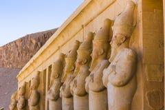 tempel för egypt hatshepsutluxor minnesmärke egypt luxor Royaltyfri Fotografi