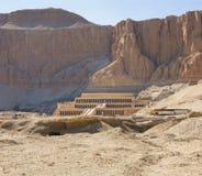 tempel för egypt hatshepsutluxor minnesmärke egypt luxor Royaltyfria Bilder