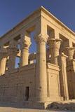 tempel för egypt isis-philae arkivbilder