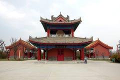 Tempel för guden av rikedom arkivbild