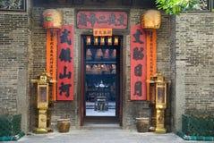 tempel för Hong Kong manmo royaltyfria foton