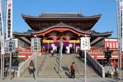 tempel för japan kanonnagoya osu Arkivfoto