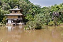 tempel för jikinkakupaulo sao Arkivbilder