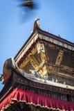 tempel för kathmandu nepal takswayambhunath Royaltyfria Bilder