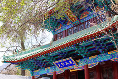 Tempel för Kina ` s arkivbild