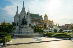 Tempel för konung Rama och Ratchanadda Arkivfoton