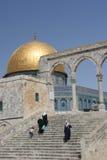 tempel för kupolmonteringsrock arkivbild