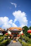 Tempel för Lok koksi Kinesisk tempel Penang Malaysia royaltyfria foton