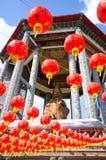 Tempel för Lok koksi Kinesisk tempel Penang Malaysia royaltyfria bilder