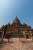 Tempel för Mingala zedipagod i Bagan, Myanmar royaltyfri foto