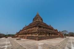 Tempel för Mingala zedipagod i Bagan, Myanmar royaltyfria bilder