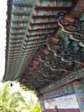 Tempel för mu-Ryang Sa Arkivbilder