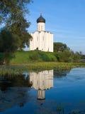 tempel för na-nerlipokrova Royaltyfri Fotografi