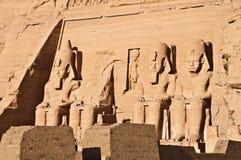 tempel för ramses ii Royaltyfria Bilder