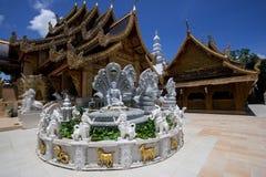 Tempel för San PA yang royaltyfri fotografi