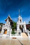Tempel för San PA Yang Luang i det Lamphun landskapet royaltyfria bilder