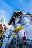 Tempel för San PA Yang Luang i det Lamphun landskapet royaltyfri fotografi