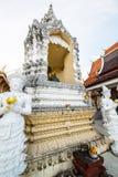Tempel för San PA Yang Luang i det Lamphun landskapet royaltyfria foton
