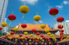 Tempel för Sik sikyuen wong tai synd i Hong Kong Royaltyfria Foton